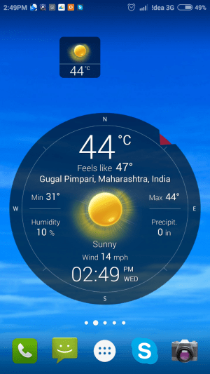Weather Live Free App-14
