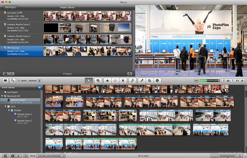 iMovie Video Editor for Macintosh