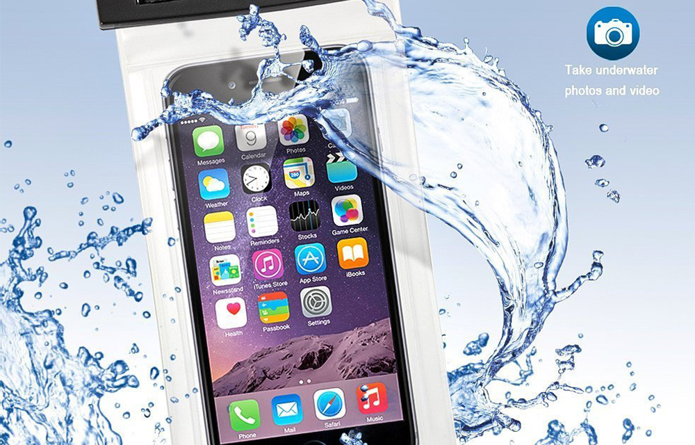 Case4fun Universal IPX8 Waterproof Bag Take Underwater Photos
