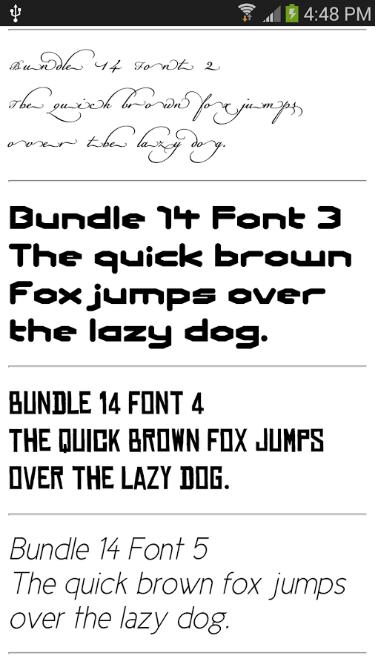Samsung Fonts