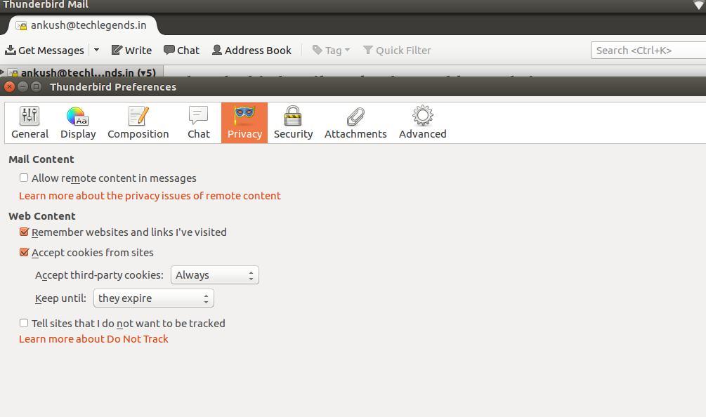 thunderbird - best email client