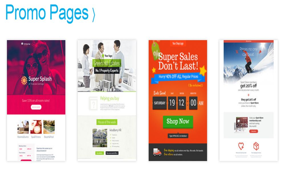 7. GR_Landing page Templates