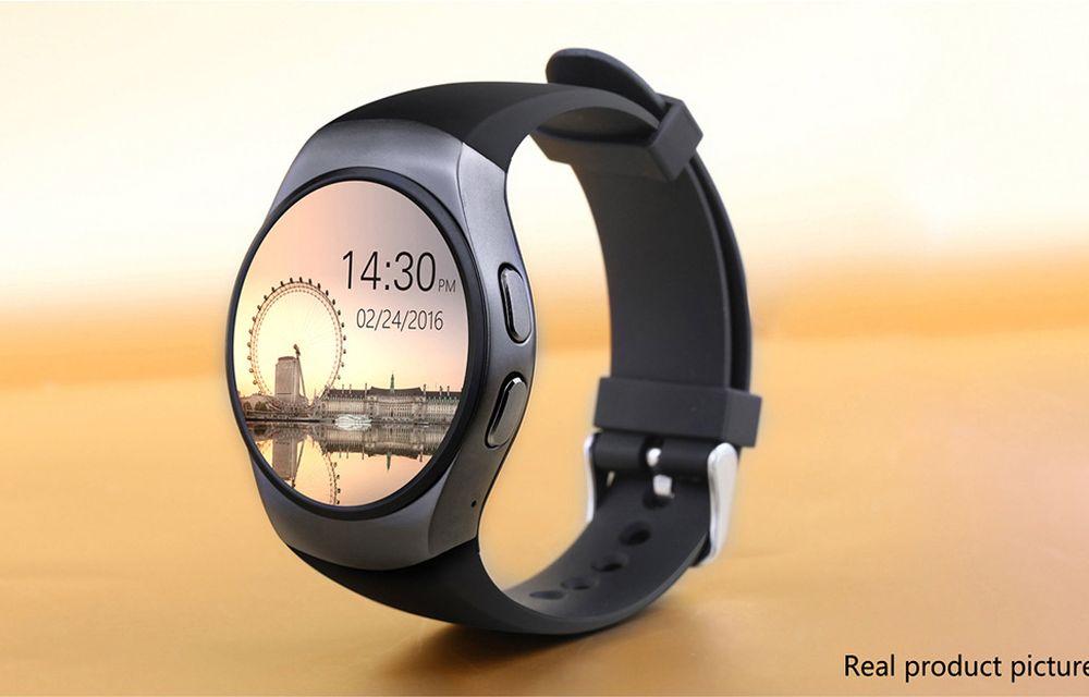 KingWear KW18 Smartwatch Display