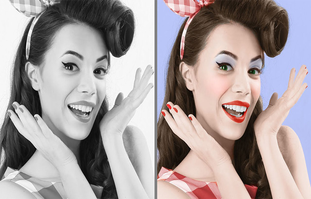 How to Colorize Black and White Photos