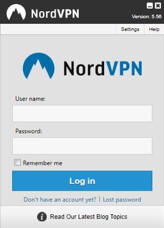 nordvpn-login-screen