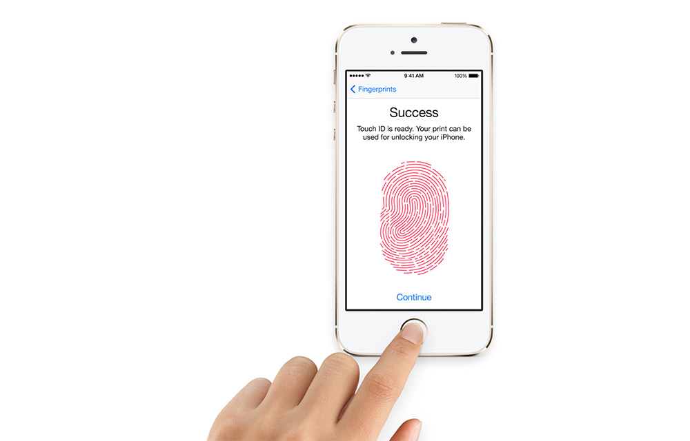 Iphone C Fingerprint Scanner Setup