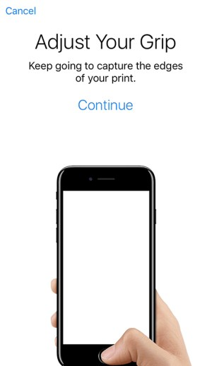 Set Up Touch ID Fingerprint Scanner on iPhone