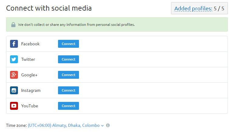 Social Media Audit Tool SEMRUSH