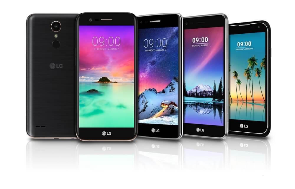 LG K series Smartphones - K3 K4 K8 K10