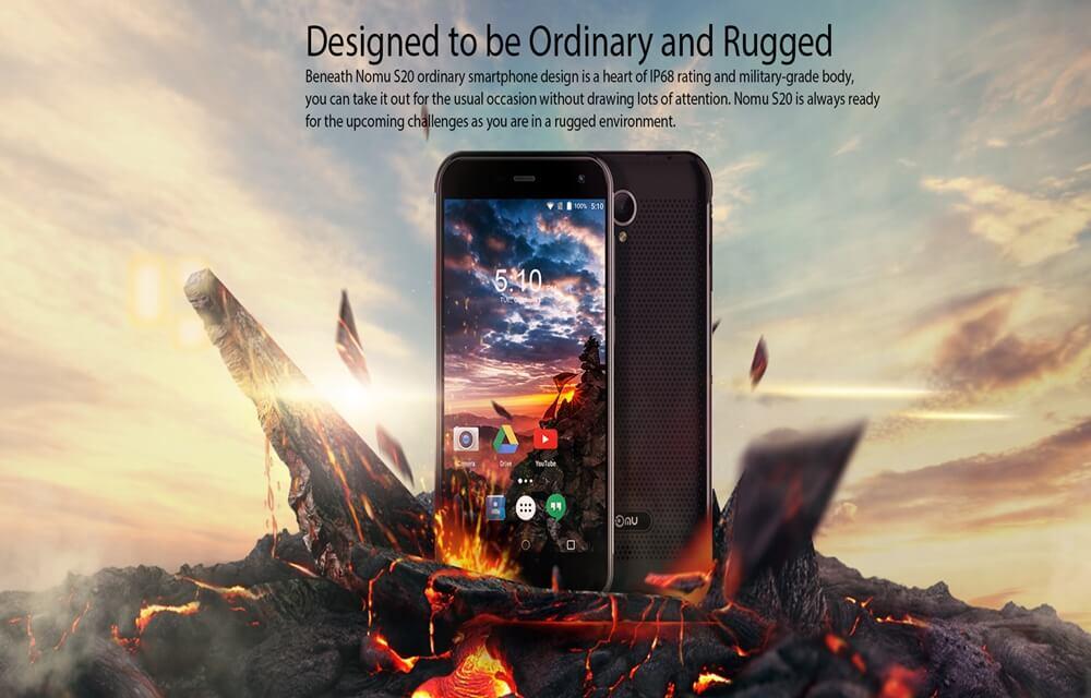 Nomu S20 3GB RAM Rugged smartphone