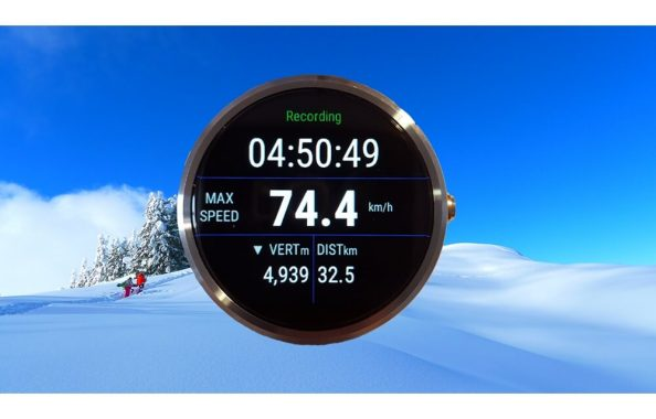 Ski Tracks App - Google Playstore and itunes Review - Android Wear and Apple Watch