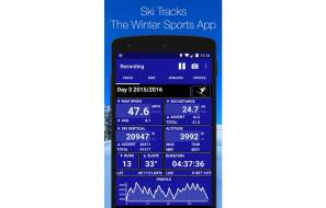 Ski Tracks App - Google Playstore and itunes Review