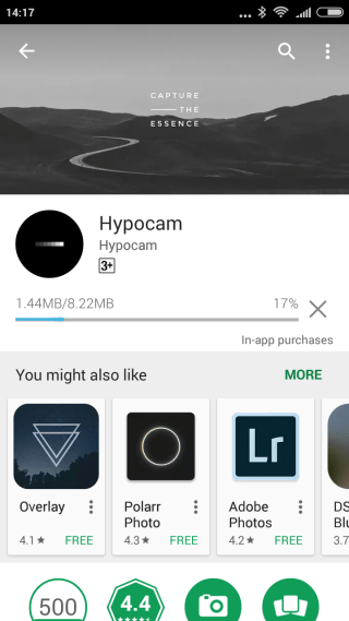 Hypocam - Android Camera App Review