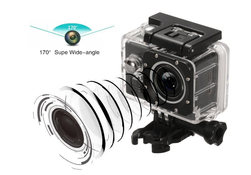 Acekool 4K Action Camera Features