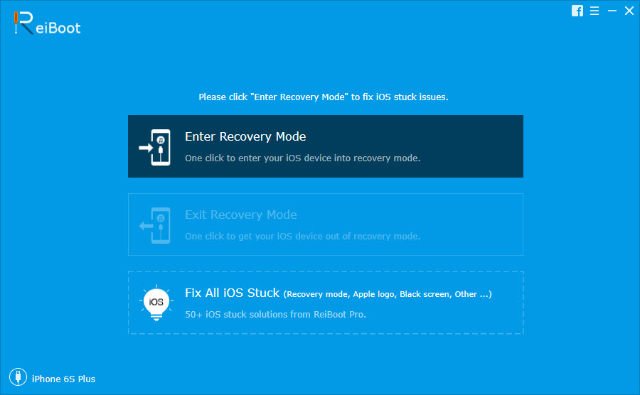Reiboot Enter Recovery Mode