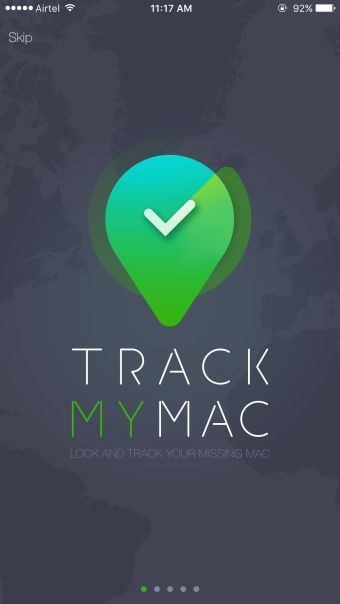 Track My Mac Home