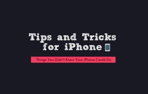 iPhone Tips and Tricks by iOBit