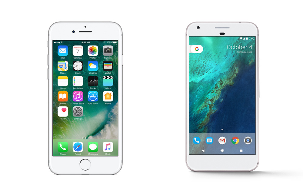 Buying a New Phone - Which is Better, the iPhone 7 or the Google Pixel