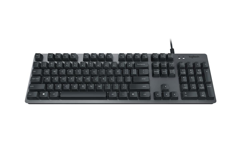 Logitech K840 Mechanical Keyboard Review