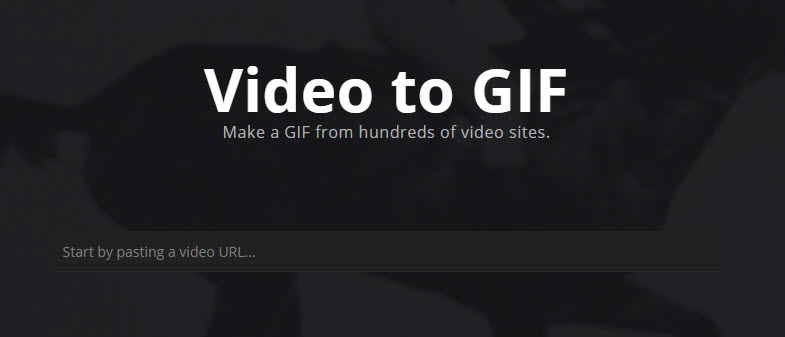 Imgur Convert Video to GIF