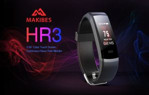 Makibes HR3 Smart Bracelet – Features, Price and Availability
