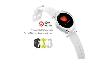 Ticwatch E Sports Smartwatch Features, Price and Availability