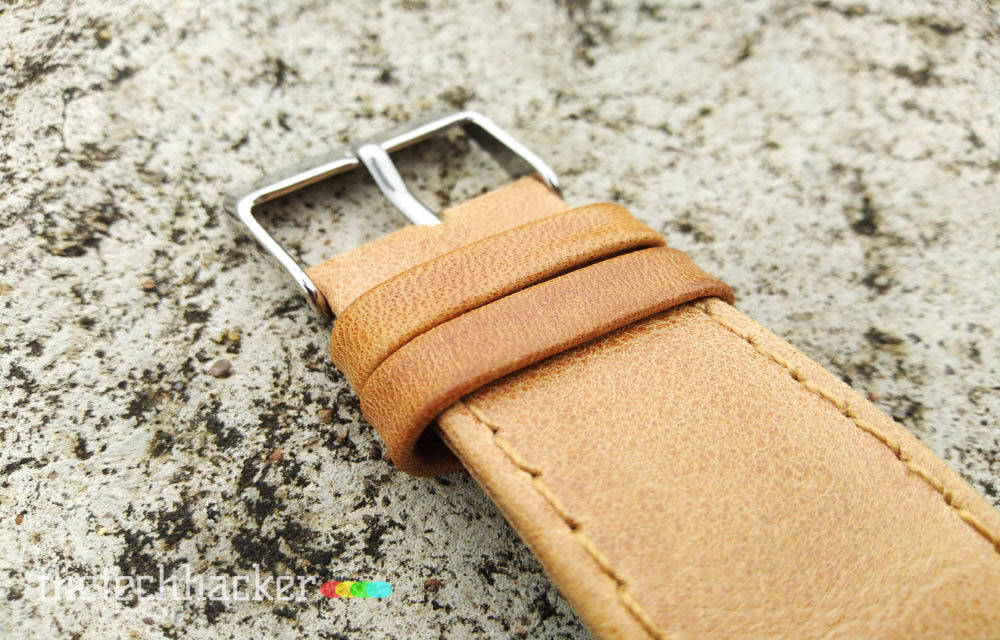 Jisoncase Genuine Leather Apple Watch Strap Build Quality