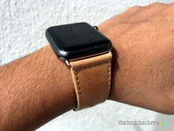 Jisoncase Genuine Leather Wrist Band for Apple Watch Review