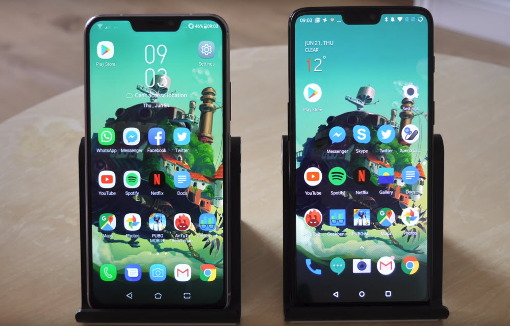 Asus Zenfone 5Z vs OnePlus 6 - The War of 2018 Flagships