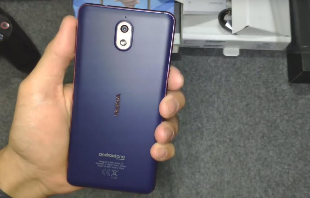Nokia 3.1 Design