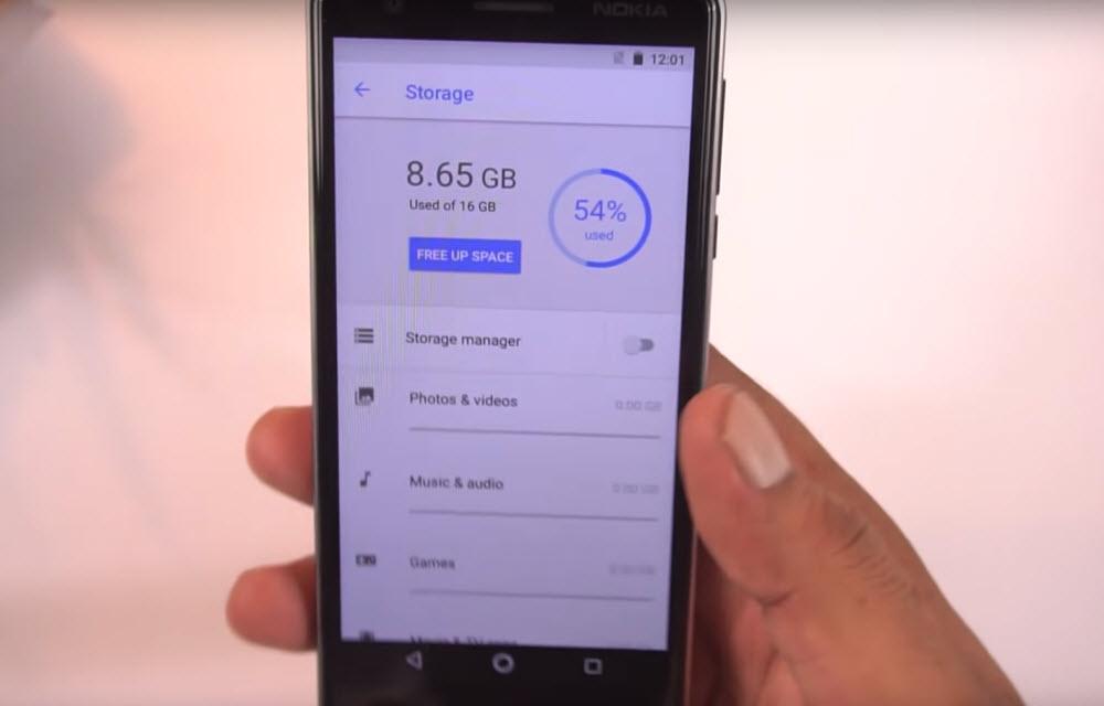 Nokia 3.1 Performance