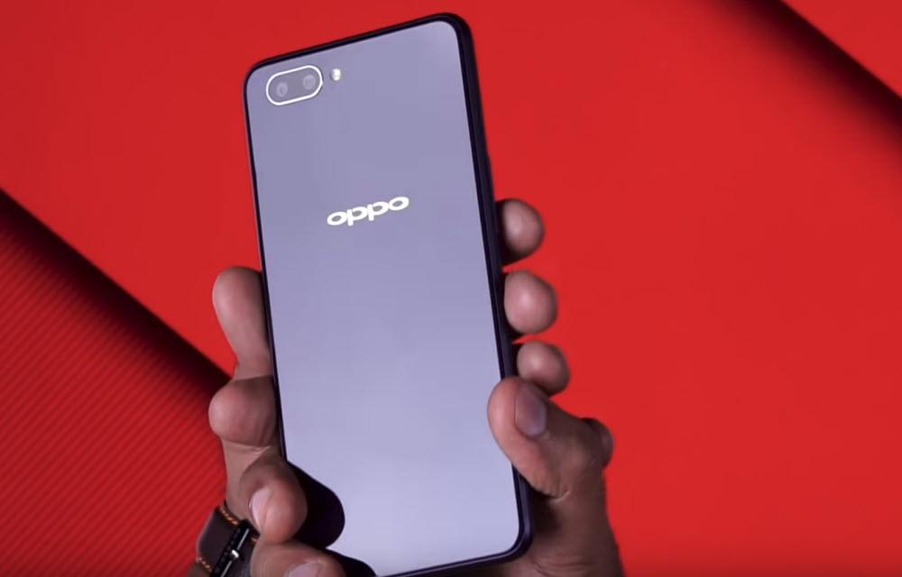 OPPO A3S Design