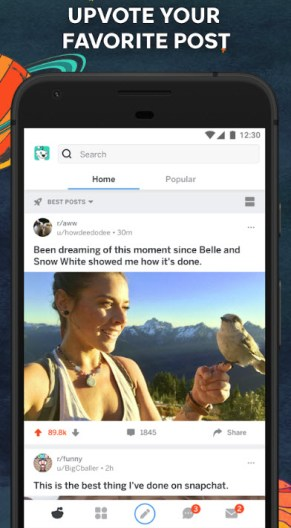 Reddit official client for Android