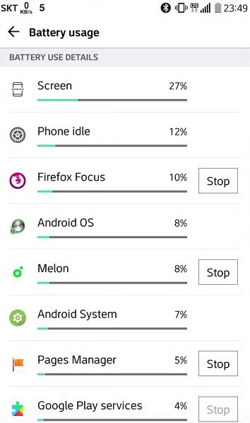 LG Q8 Battery Performance