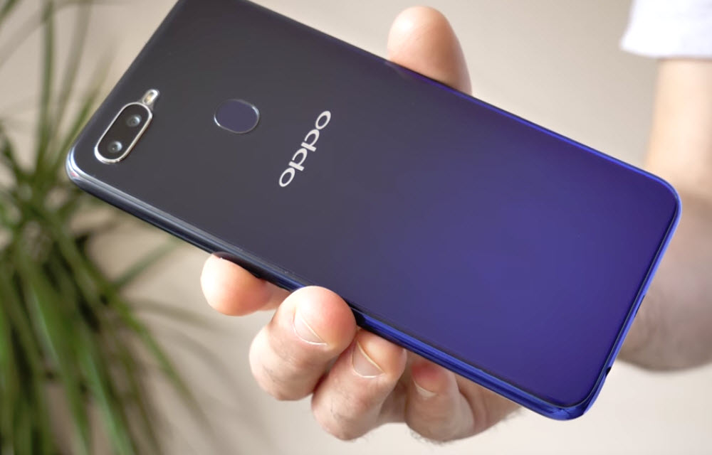 Oppo F9 Pro Design