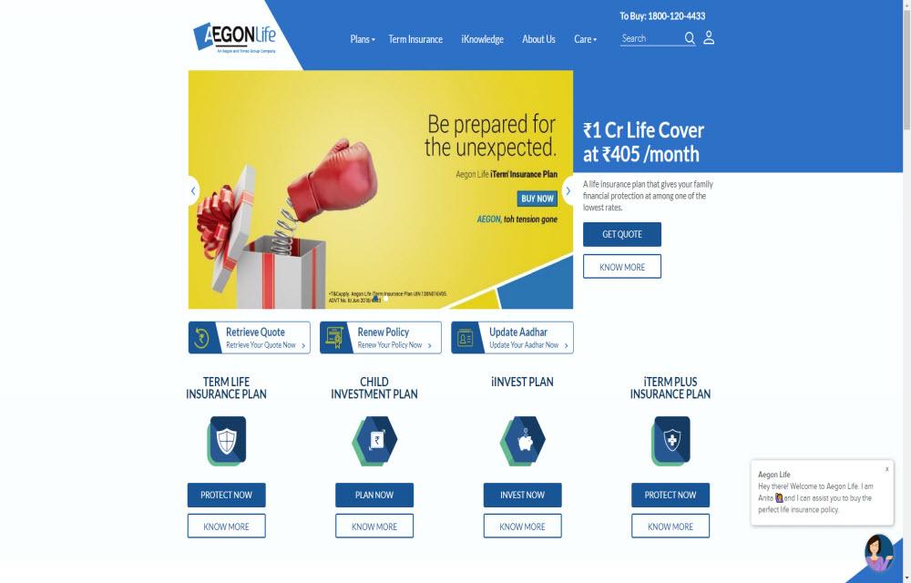 AEGON Life Insurance Co. Ltd