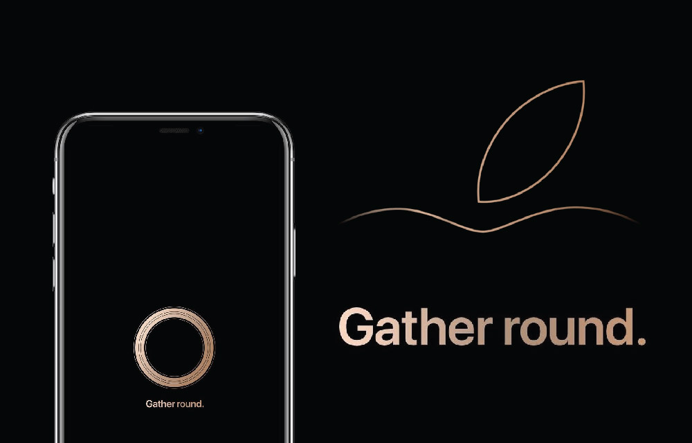 Apple 2018 gather round event