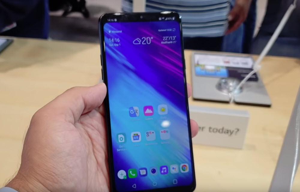 LG G7 Fit Display