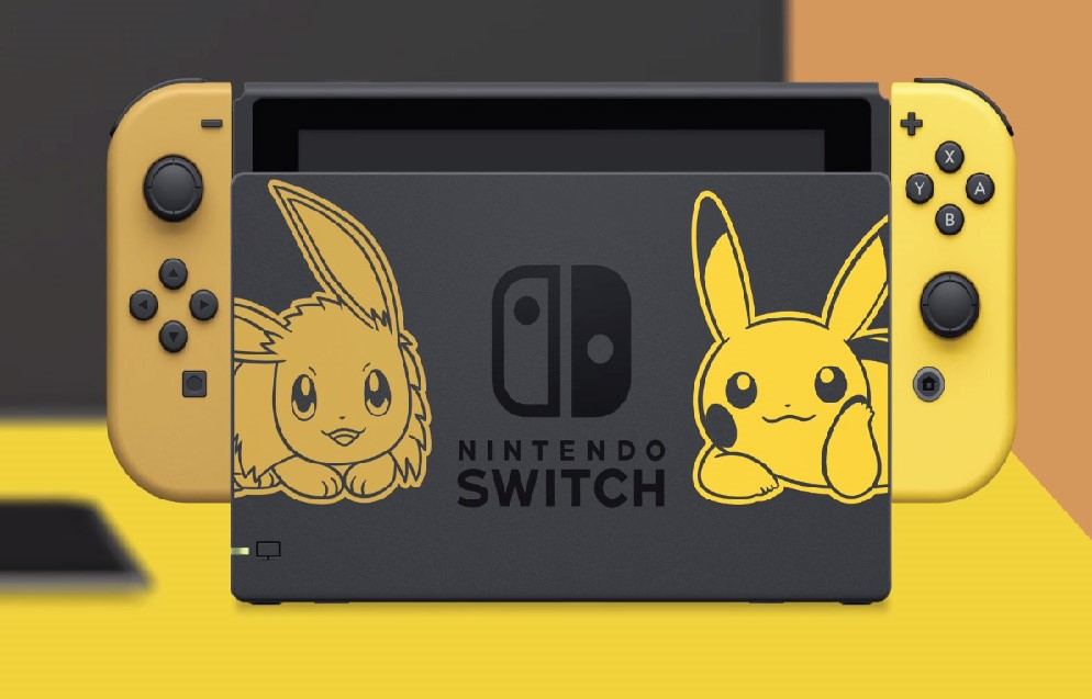 Nintendo pokemon lets go new pikachu-eevee dition