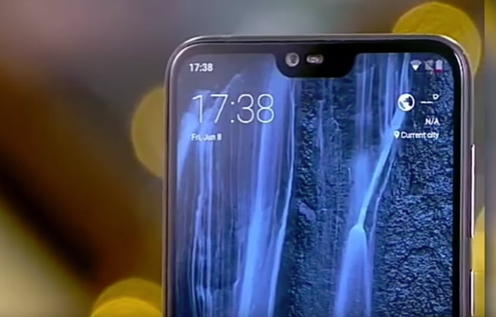 Nokia X6 Display