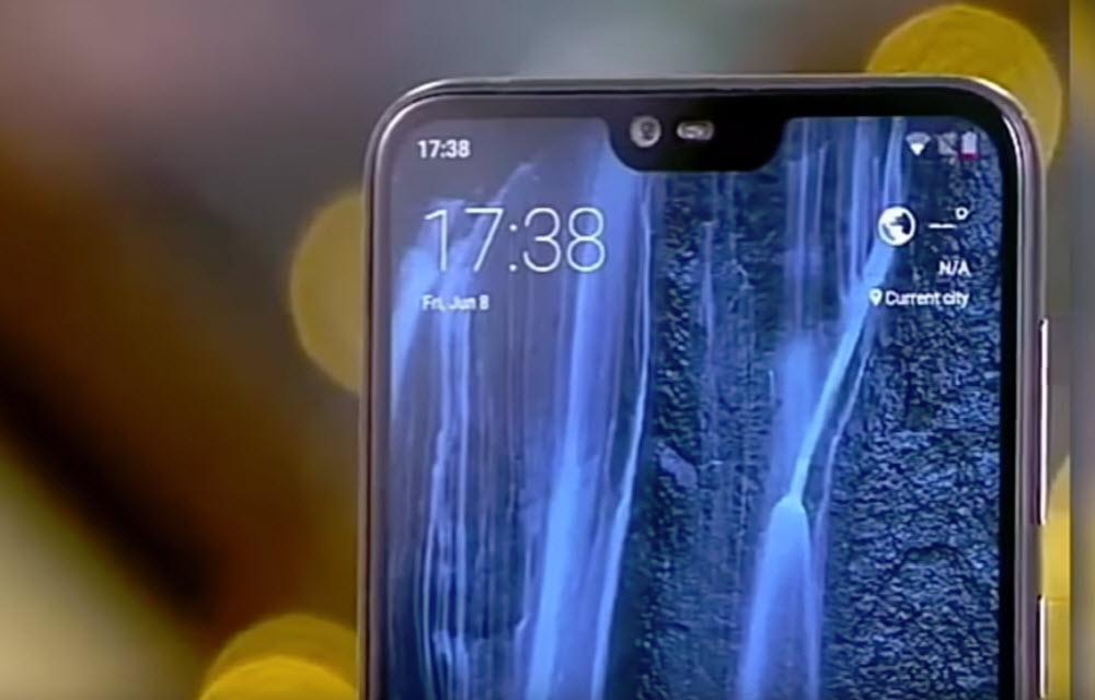 Nokia X6 Display
