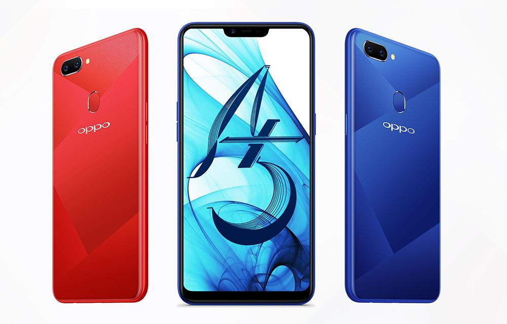Oppo A5 Design