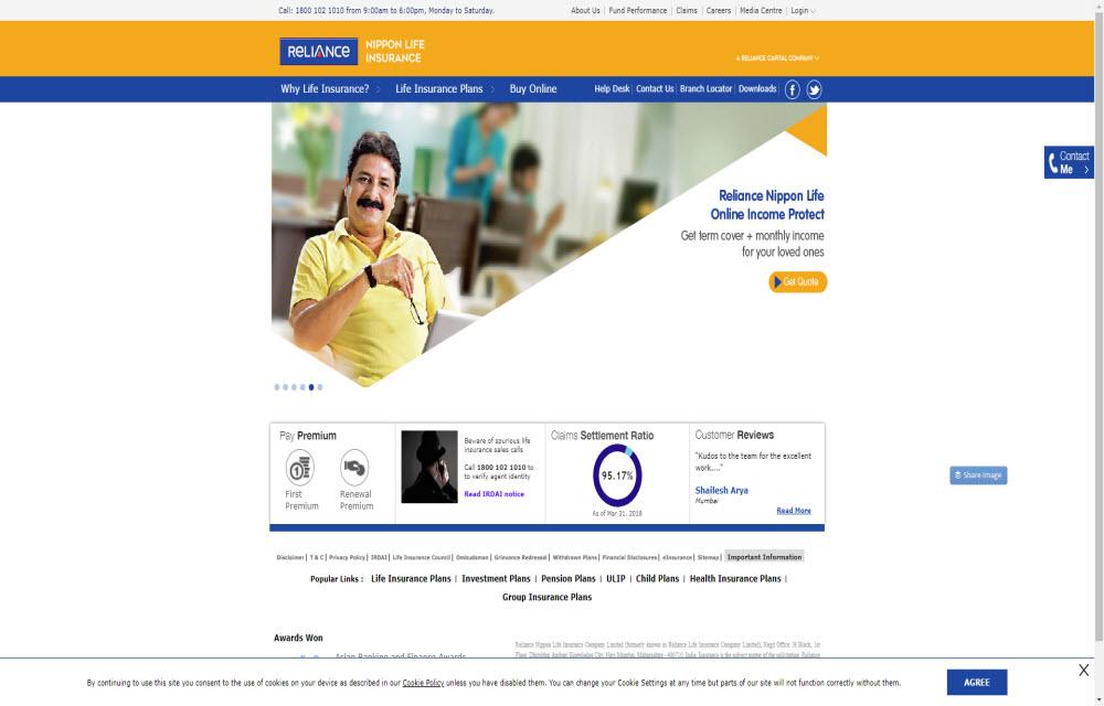Reliance Life Insurance Co. Ltd