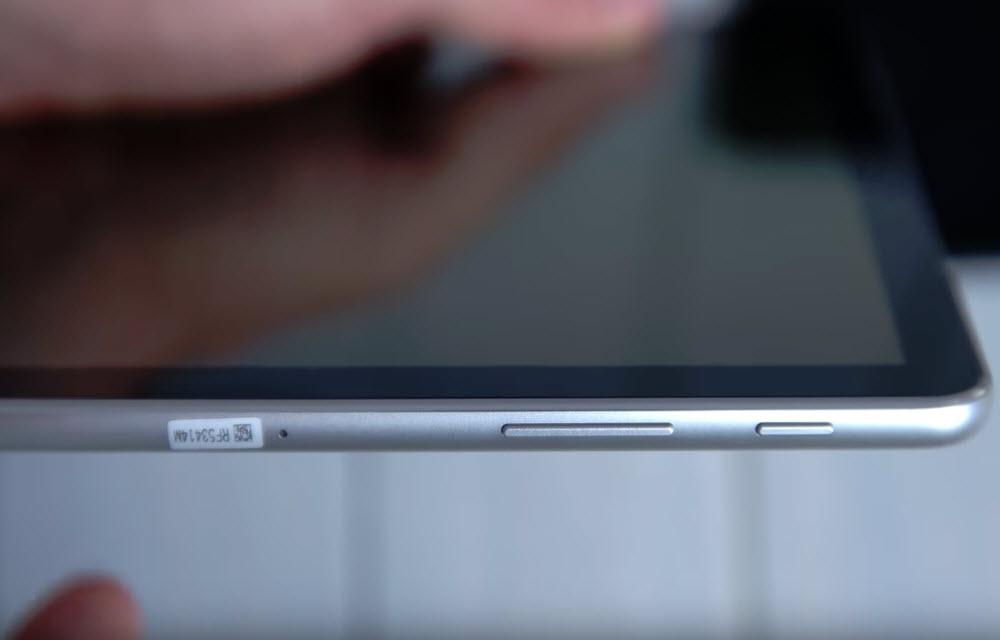 Samsung Galaxy Tab S4 Design