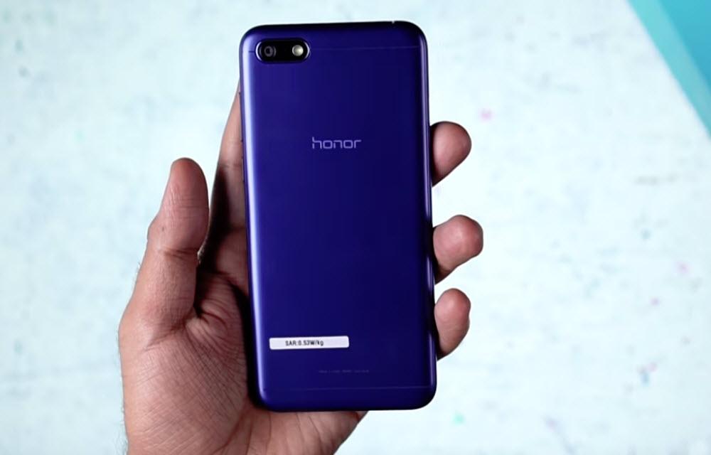 Honor 7S Design