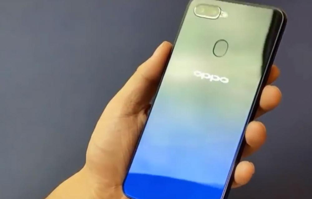Oppo A7X Design