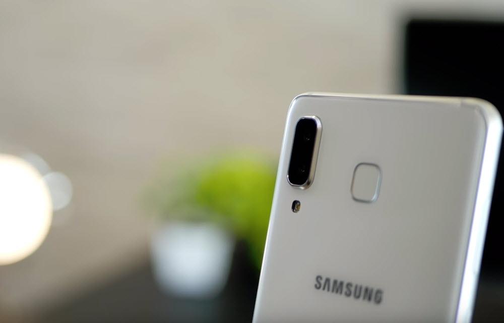 Samsung Galaxy A8 Star Camera