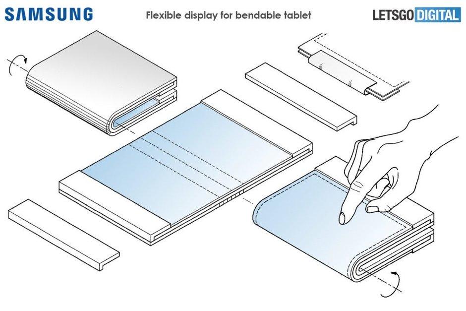 Samsung Galaxy F foldable tablet
