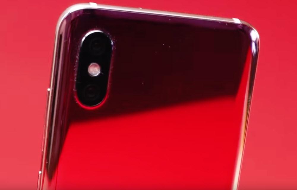 Xiaomi Mi 8 Pro Design
