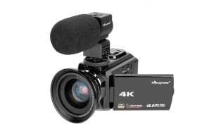 4K CamCorder, Mbuynow Video Camera Review